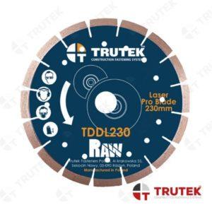 TDDL – TARCZA DIAMENTOWA Laser Trutek