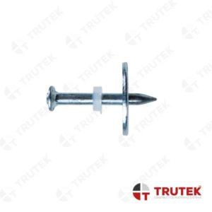 TMWP – GWOŹDZIE Z PLASTIKOWĄ METALOWĄ Ø23 mm (do stali i betonu) Trutek